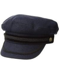Lauren by Ralph Lauren - Felt Greek Fishermans Hat (navy) Caps - Lyst