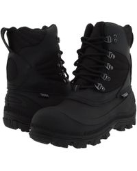 Tundra Boots - Mitch (black) Men's Cold Weather Boots - Lyst