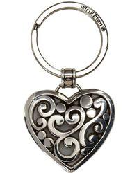 Brighton - Contempo Heart Key Fob - Lyst