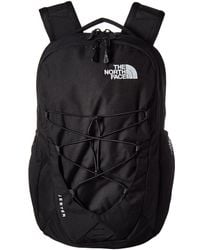 The North Face - Jester Backpack (mid Grey Dark Heather/tnf Black) Backpack Bags - Lyst