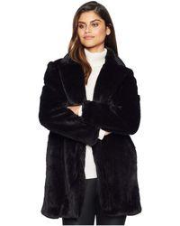 Sam Edelman - Notch Collar Coat (grey) Women's Coat - Lyst