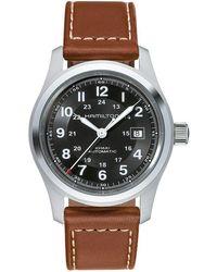 Hamilton - Khaki Field Auto 42mm - H70555533 (black) Watches - Lyst