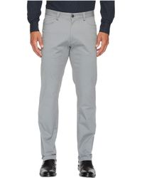 Calvin Klein - Slim Fit 4-pocket Stretch Sateen Pant (white) Men's Clothing - Lyst