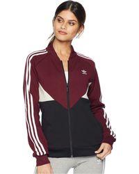 adidas Originals - Clrdo Sst Track Top (maroon) Women's Coat - Lyst