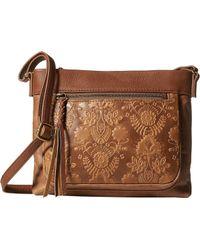 The Sak - Sanibel Mini Crossbody (sunlight) Cross Body Handbags - Lyst