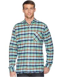Psycho Bunny - Long Sleeve Flannel (galaxy) Men's Clothing - Lyst
