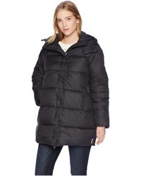 HUNTER - Original Puffer Coat (black) Women's Coat - Lyst