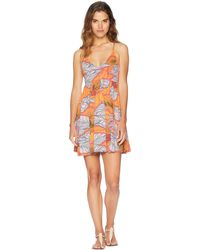Maaji - Farrah's Party Short Dress Cover-up (multicolor) Women's Swimwear - Lyst
