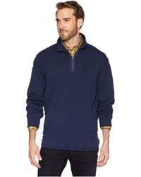 Mod-o-doc - Trestles 1/4 Zip Fleece Pullover (mulberry) Men's Long Sleeve Pullover - Lyst