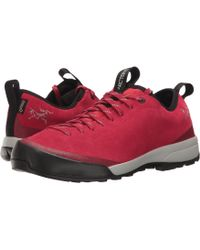 Arc'teryx - Acrux Sl Leather Gtx Approach (merbau/aurora) Women's Shoes - Lyst
