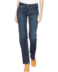 Ariat - R.e.a.l.tm Straight Icon Jeans - Lyst