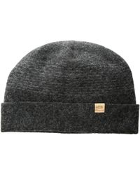 28d125c6777 The North Face - Felted Wool Beanie (weathered Black Heather) Beanies - Lyst