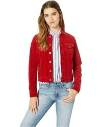 AG Jeans - Robyn Jacket (red Amaryllis) Women's Coat - Lyst