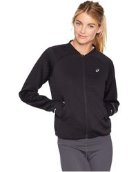 Asics - Styled Warmth Jacket (performance Black) Women's Coat - Lyst