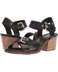 Pikolinos - Kenia W6t-1649 (black) Women's Hook And Loop Shoes - Lyst