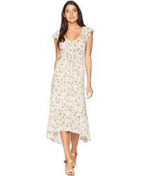 Lucky Brand - Felice Floral Dress (natural Multi) Women's Dress - Lyst