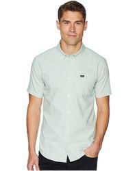 RVCA - That'll Do Stretch Short Sleeve Woven (chai) Men's Clothing - Lyst