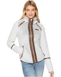 Obermeyer - Stella Fleece Jacket (fog) Women's Coat - Lyst