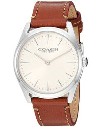 COACH - Preston - 14503105 (chalk) Watches - Lyst