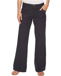 XCVI - Yosemite Wide Leg Pant (charcoal) Women's Casual Pants - Lyst