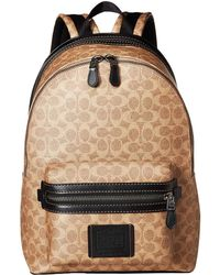 433d3f50c86b COACH - Academy Backpack In Signature Coated Canvas (beige 1) Backpack Bags  - Lyst