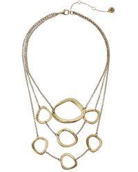 "The Sak | Metal Link Frontal Necklace 16"" | Lyst"