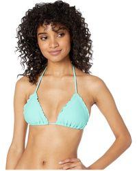 Luli Fama - Cosita Buena Wavey Triangle Bikini Top - Lyst