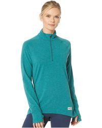 Burton - Expedition 1/4 Zip Fleece (balsam Heather) Women's Sweatshirt - Lyst