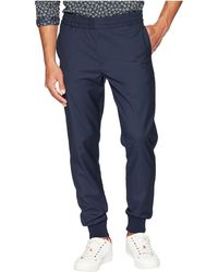 Paul Smith - Check Wool Pants (navy) Men's Casual Pants - Lyst
