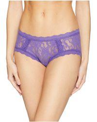 Hanky Panky - Signature Lace Girl-kini (purple Berry) Women's Underwear - Lyst