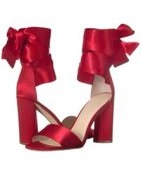 Guess - Allison (red/red Double Fabric) Women's Shoes - Lyst