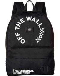 a2a7841cd84acc Vans - Old Skool Ii Backpack Men s Backpack In Black - Lyst