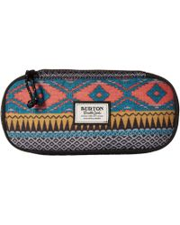 Burton - Switchback Case (check Yourself Print) Wallet - Lyst