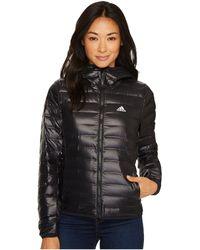 adidas Originals - Varilite Hooded Jacket (black) Women's Coat - Lyst