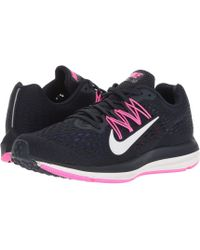 d6f35be072d Nike - Air Zoom Winflo 5 (black white anthracite) Women s Running Shoes