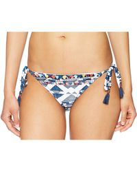 Lucky Brand - Going South Tie Side Hipster Bikini Bottom - Lyst
