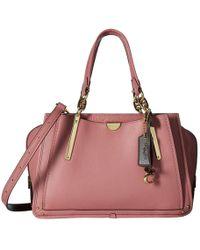 COACH - Dreamer In Color Block Leather (li/rose Multi) Handbags - Lyst