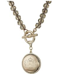 Lauren by Ralph Lauren - Smokey Quartz 17 Pendant Necklace (gold/smokey) Necklace - Lyst