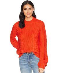 Volcom - Hellooo Sweater (heather Grey) Women's Sweater - Lyst