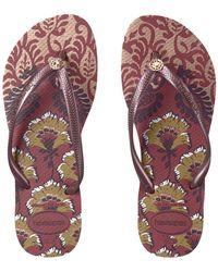 Havaianas - Slim Royal Flip Flops - Lyst