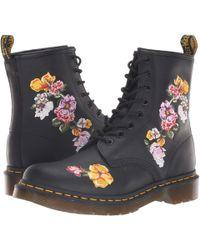 Dr. Martens - 1460 Vonda Ii Floral (black Softy T) Women's Boots - Lyst