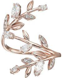 Swarovski - Mayfly Ring (white) Ring - Lyst