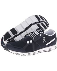 On - Cloud (navy/white) Men's Running Shoes - Lyst