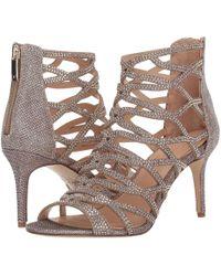 Imagine Vince Camuto Phoebe Embellished Leather T strap