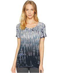 Hard Tail - Short Sleeve Crew Tee (space Dye 1) Women's T Shirt - Lyst