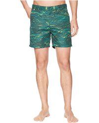 Scotch & Soda - Medium Length Swim Shorts In Sophisticated Patterns (combo E) Men's Swimwear - Lyst