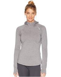 Brooks - Notch Thermal Hoodie (heather Plum) Women's Sweatshirt - Lyst