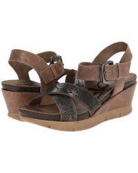Otbt - Gearhart (desert Gold) Women's Wedge Shoes - Lyst