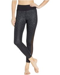 12954644d01a Asics - Printed Crop Tights (aop Hex Fade Performance Black) Women s Casual  Pants -