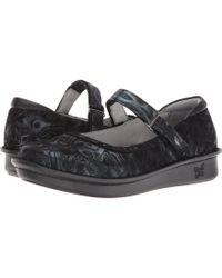 Alegria - Belle (silver Slate) Women's Maryjane Shoes - Lyst